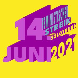 Flyer zum 14. Juni 2021 - Schrift